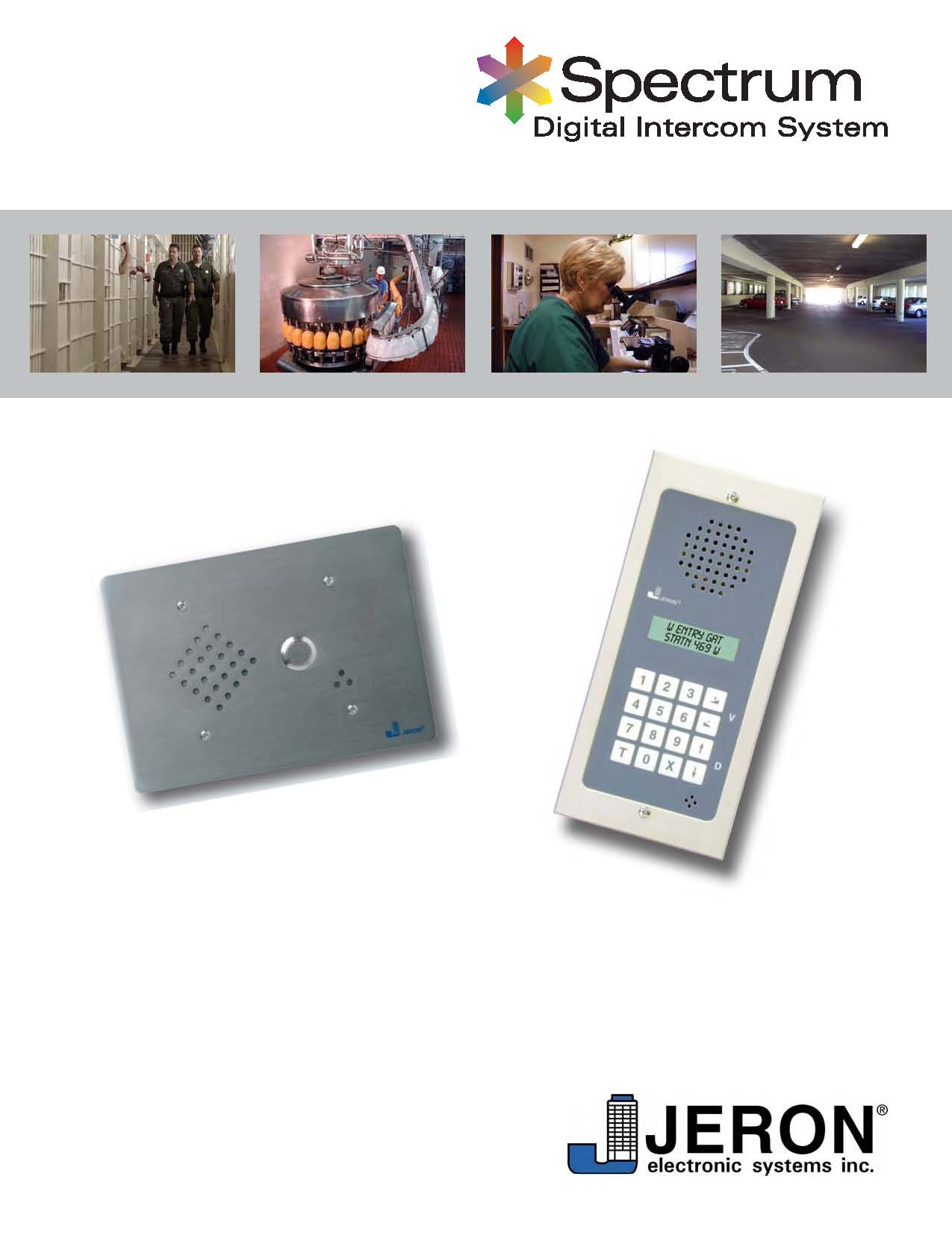 Brochures. Spectrum Intercom Solutions